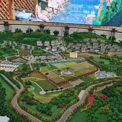 花硒谷康养小镇项目外景及最新进展